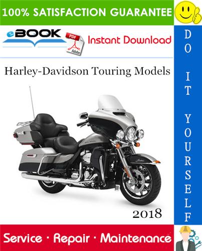 Thumbnail ☆☆ Best ☆☆ 2018 Harley-Davidson Touring Models Service Repair Manual + Electrical Diagnostic Manual + Wiring Diagrams