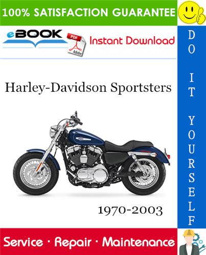 Thumbnail ☆☆ Best ☆☆ Harley-Davidson Sportsters Motorcycle Service Repair Manual 1970-2003 Download