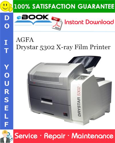 Thumbnail ☆☆ Best ☆☆ AGFA Drystar 5302 X-ray Film Printer Service Repair Manual